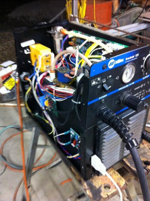 Lcthc Install In Miller Spectrum 625